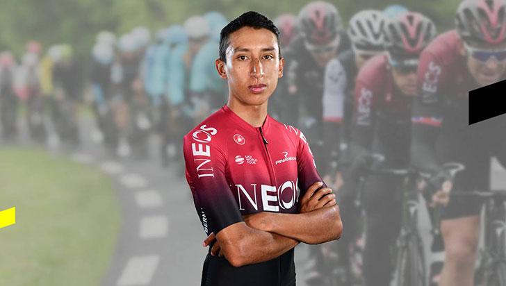 Egan Bernal, cuarto en general del Tour de Francia 2019