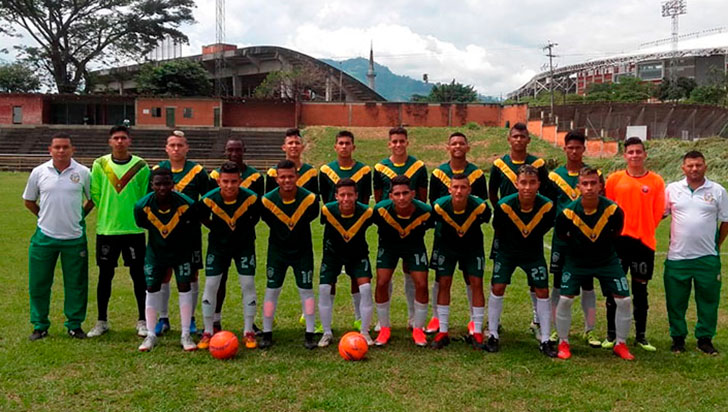 La selección Quindío sub-21 de fútbol clasificó a la fase final del Nacional