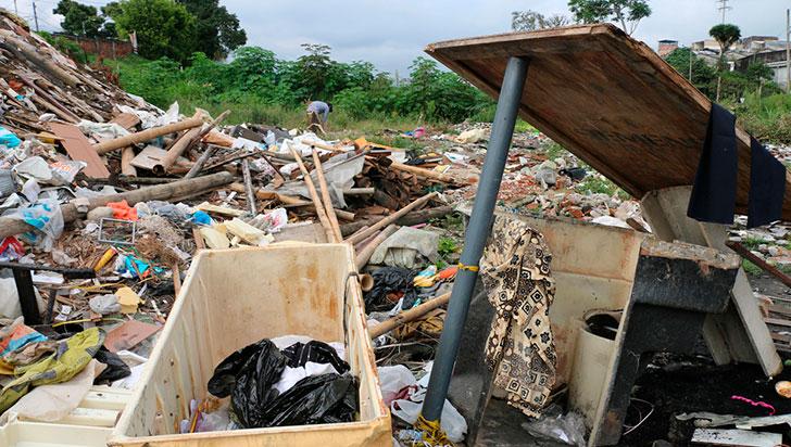 Tres años sin escombrera, ¿qué ha pasado con el sitio de residuos de construcción y demolición?