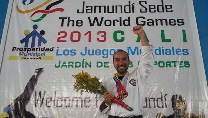 """""""Este deporte reta a superar límites"""", Jorge Luis Montealegre, hapkidista"""
