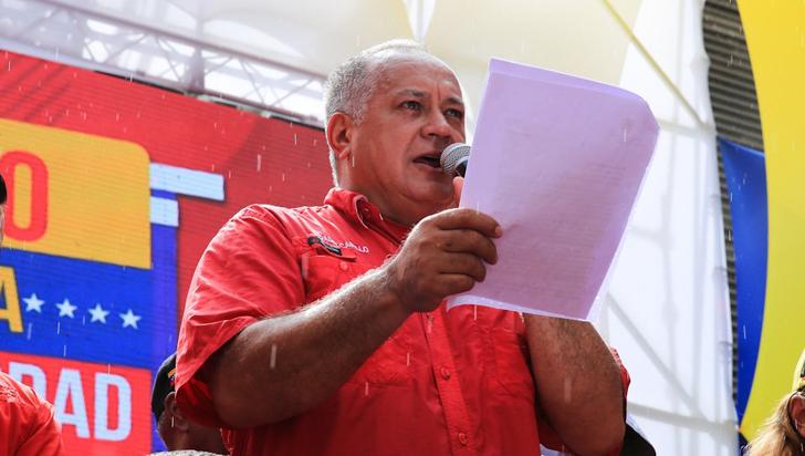 "Diosdado Cabello dijo que Colombia ""se acaba"" si deja de producir drogas"