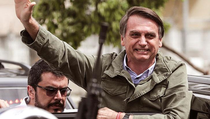 """Trump: Bolsonaro es un """"gran caballero"""" que está haciendo un """"gran trabajo"""""""