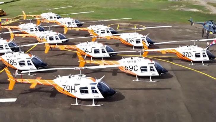 EE.UU. entregó 60 helicópteros a Colombia para entrenamiento de pilotos