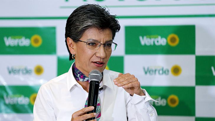 Claudia López lidera la intención de voto para la Alcaldía de Bogotá