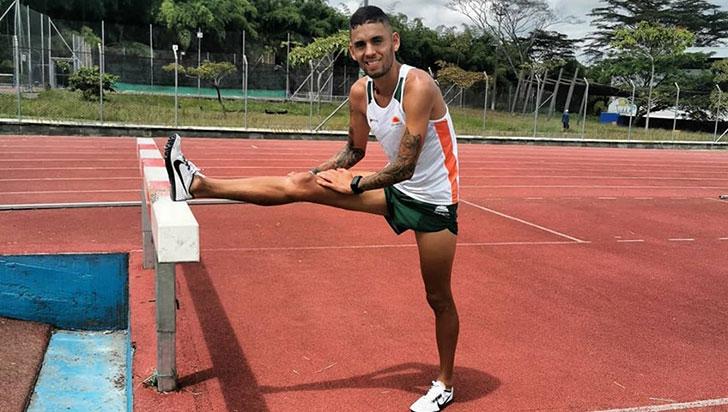 Lesión dejó afuera de los Panamericanos a Gerard Giraldo