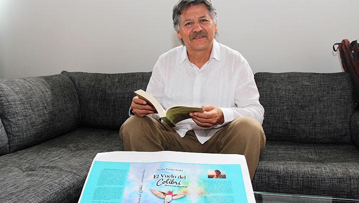 Jaime Patiño lanza su libro  'El vuelo del colibrí' el próximo miércoles