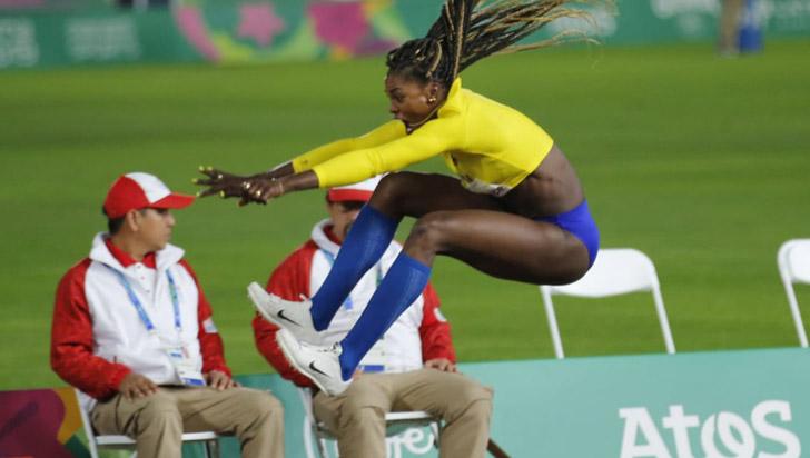 Por lesión, Caterine Ibargüen abandona los Panamericanos
