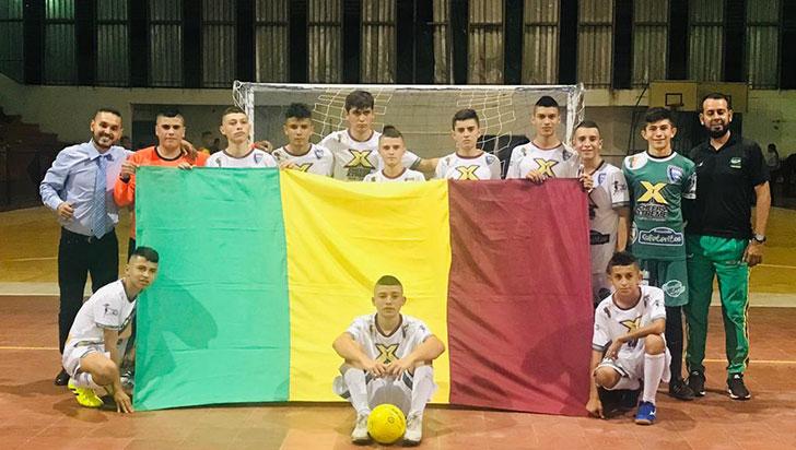 En Florencia, Quindío a la conquista del nacional sub-15 de futsalón
