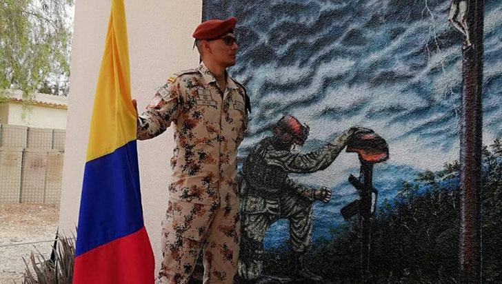 El quindiano Óscar Mejía, es un héroe bicentenario en Tierra Santa