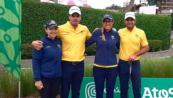 Quindiano Santiago Gómez en Panamericanos por la medalla en golf
