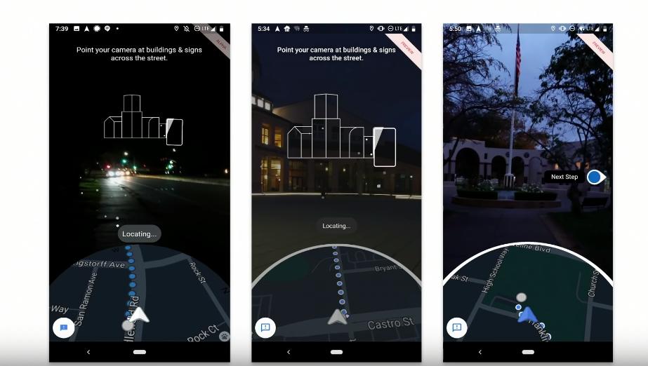 Estos dispositivos Android y Apple, podrán probar la realidad aumentada de Google Maps