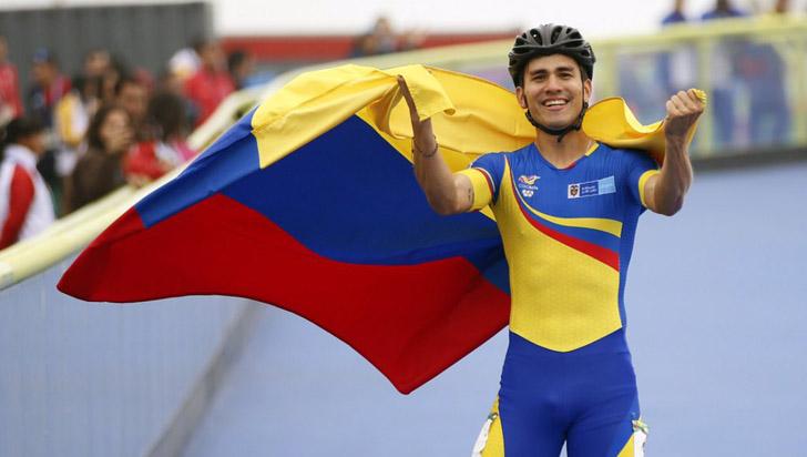 Oro para Colombia con Pedro Causil en 300 metros contrarreloj de patinaje