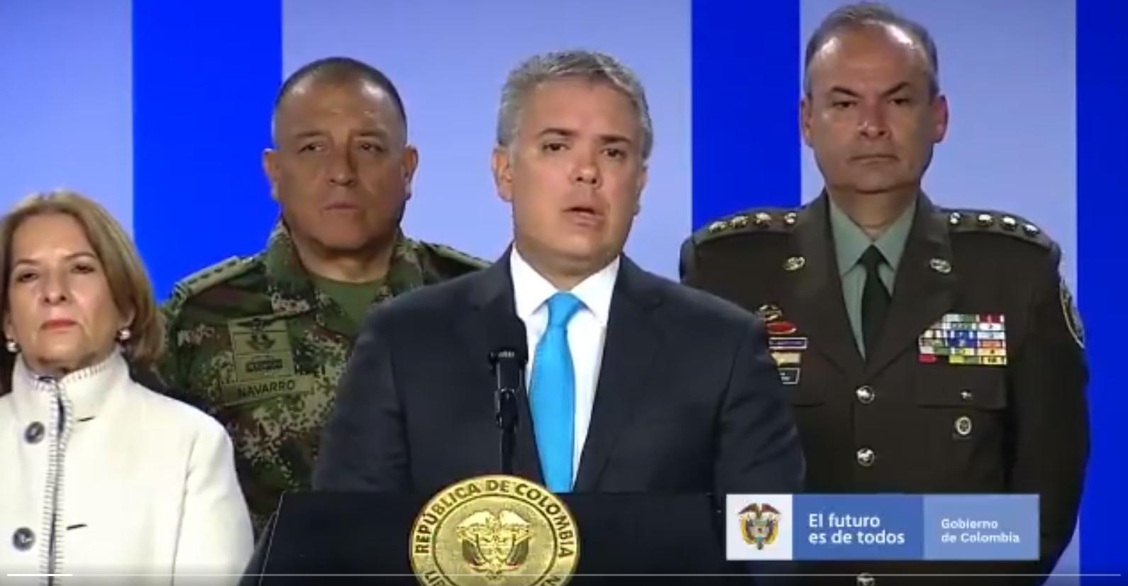 """""""Colombia fue certificada en la lucha contra las drogas"""": Guillermo Botero"""