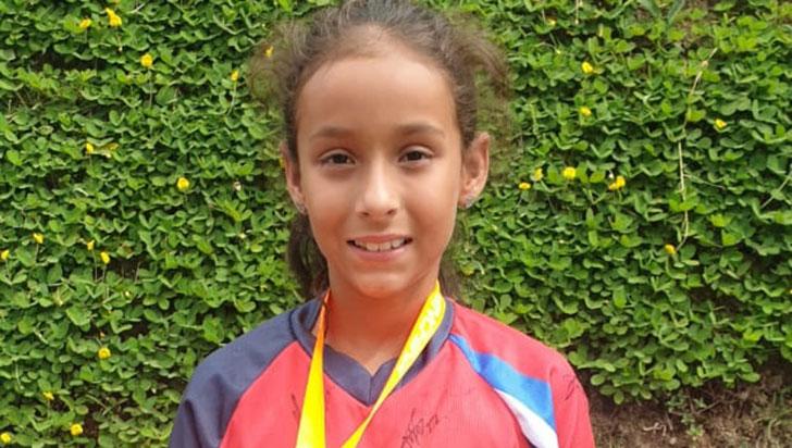 Sarah Pérez, tercera en Copa CBO