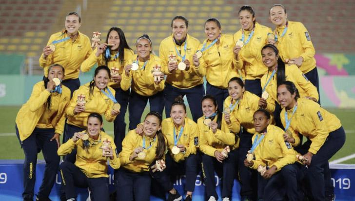 Selección femenina de fútbol: triunfo histórico en panamericanos