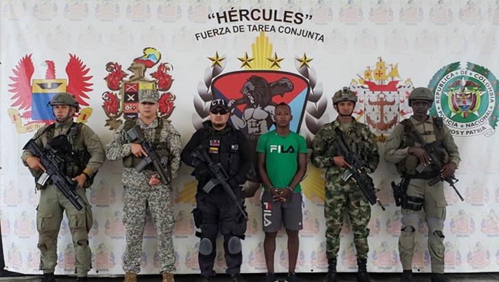Capturaron disidente de las Farc implicado en asesinato de ecuatorianos