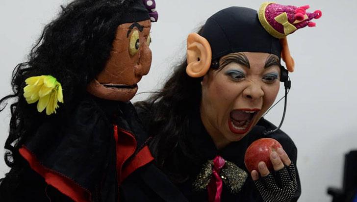 La tebaidense Juliana Buitrago  y su pasión por el teatro