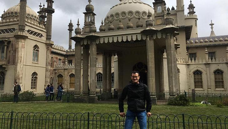 Tomás Daniel, estudiante quindiano, becado para estudiar en Londres