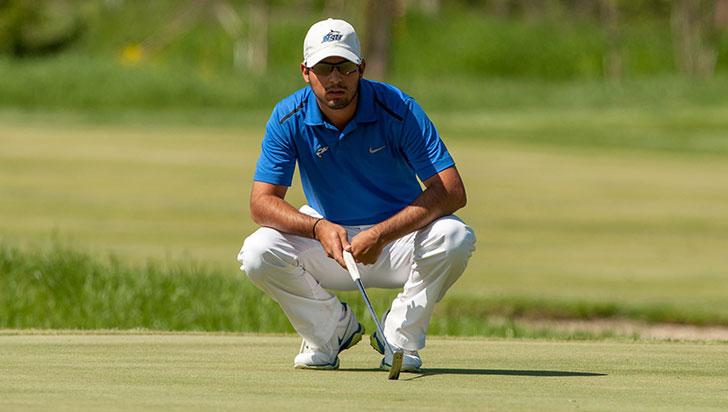 Santiago Gómez, octavo en golf panamericano
