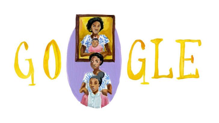 Joven colombiana ganó concurso de Doodle for Google, rindiendo un homenaje a su madre
