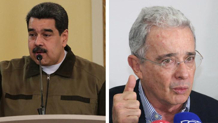 Nicolás Maduro asegura que el senador Álvaro Uribe planea asesinarlo