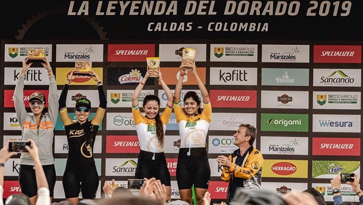 Laura Orozco ganó La leyenda del Dorado