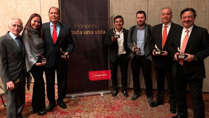 Agencia Palma de Cera recibió el premio 'a toda una vida'