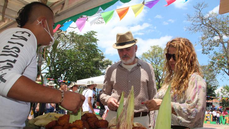 40 expositores en III Festival del Maíz; Perú, Cuba y México se hicieron presentes