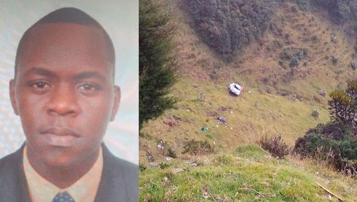 Auto que rodó por ladera de La Línea dejó una persona muerta y otra herida