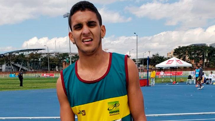 Castaño, oro quindiano en el nacional de atletismo