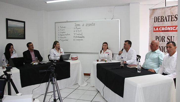 Educación y desempleo, temas en los que trabajarían los candidatos a alcaldía de Quimbaya