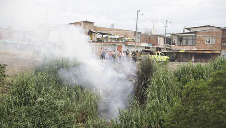 255 eventos con áreas afectadas de 63,2 ha se han registrado tras quemas en el Quindío