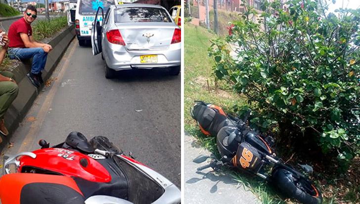 Dos accidentes sin lesionados se registraron este martes en Armenia
