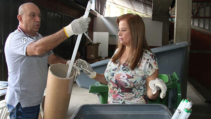 CRQ invita a vincularse a campaña con residuos posconsumo