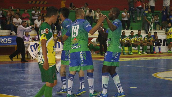 En casa, Caciques buscará asegurar pase a semifinal de Copa Futsalón