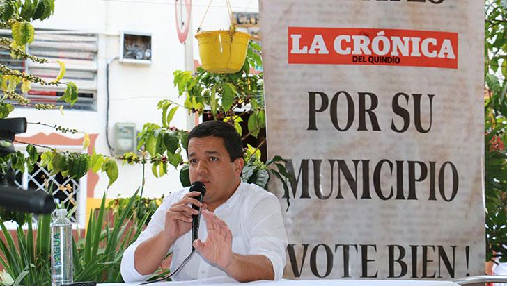 """""""Nunca he comprado un voto y no lo haría"""": Alberto Peña, candidato alcaldía de Pijao"""