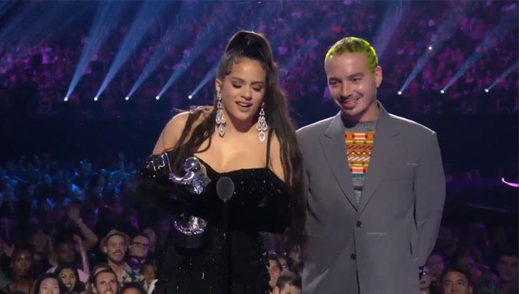 El MTV VMA en la categoría Latino fue para Rosalía y J Balvin