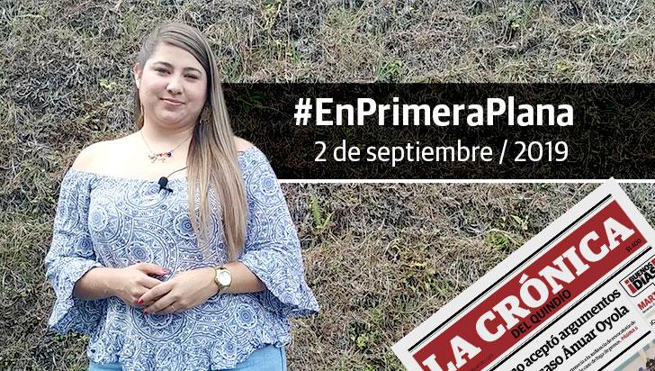 En Primera Plana: lo que será noticia este martes 3 de septiembre