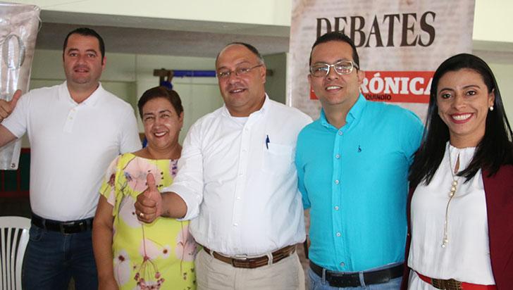 En debate en Génova, los cinco candidatos a la alcaldía hablaron sobre el factor diferenciador de sus campañas