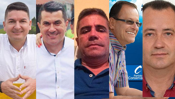 Cinco candidatos a la alcaldía de Filandia confirmaron su asistencia al debate