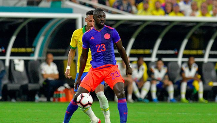 Colombia y Brasil empataron en juego amistoso