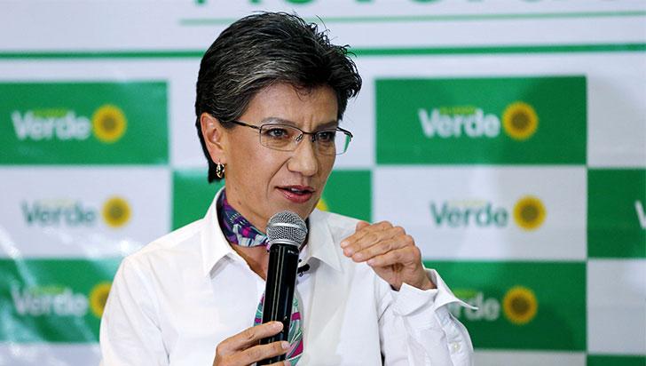 Aunque cede terreno, Claudia López sigue liderando intención de voto a Alcaldía de Bogotá