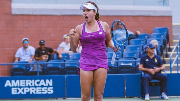 ¡María Camila Osorio campeona del US Open junior de tenis!