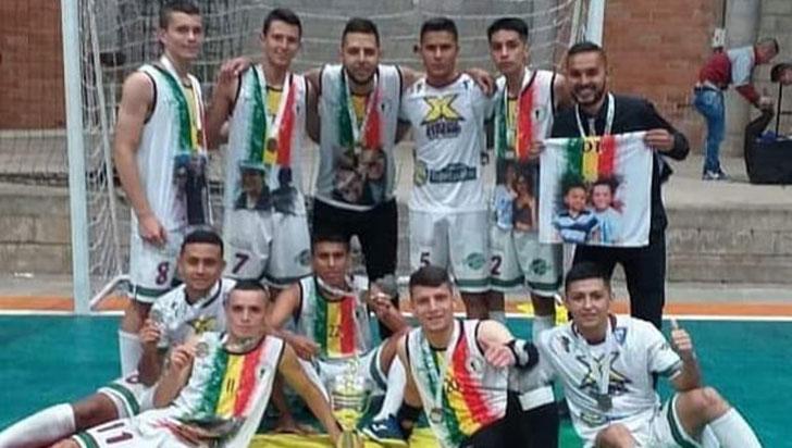 Quindío ganó el título del nacional C-23 de futsalón