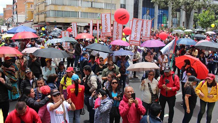 "Fecode convoca a paro nacional para protestar contra ""grave situación de inseguridad"""