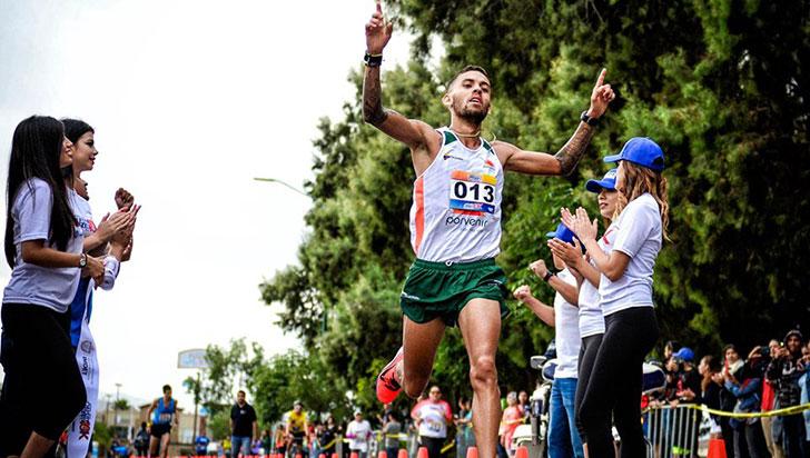 Quindiano Gerard Giraldo, con nuevo récord nacional de los 10 kilómetros