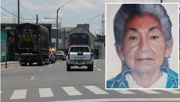 Ciudadana perdió la vida en un accidente de tránsito
