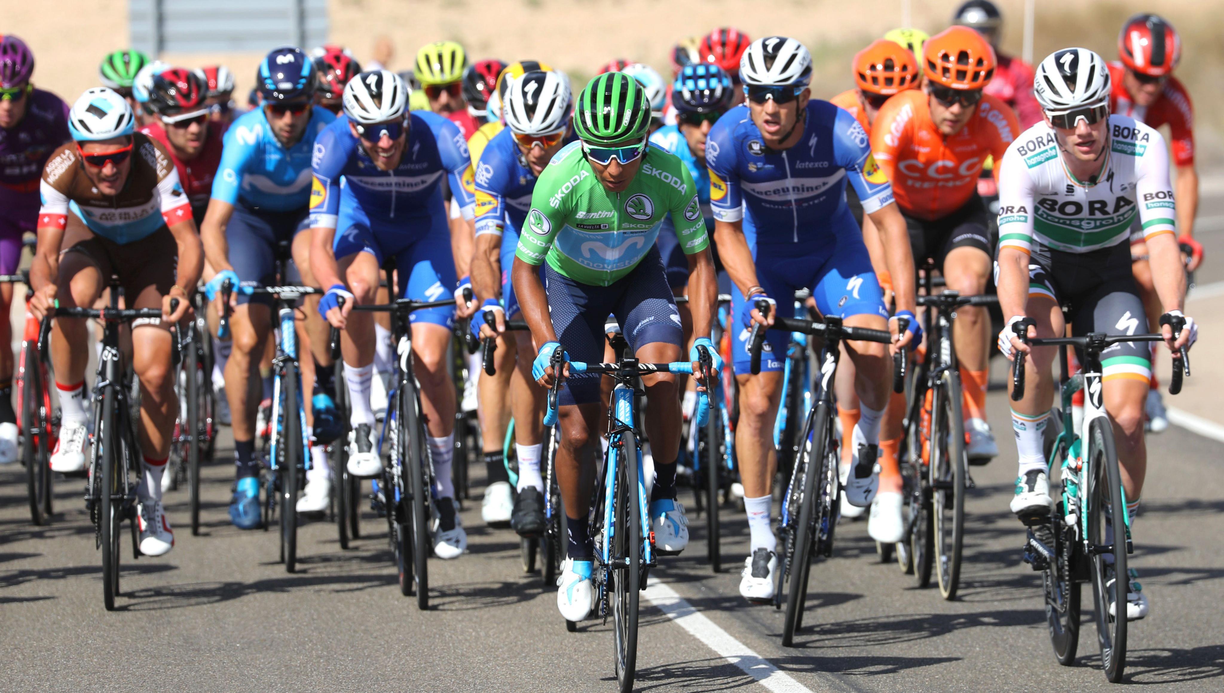 Nairo se acomoda en el segundo puesto de La Vuelta