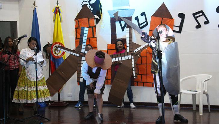 Reclusos del Quindío mostraron sus dotes artísticos en Armenia