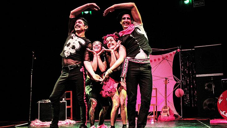 Este sábado, Circo Alboroto de Argentina con malabares, acrobacia, música y humor